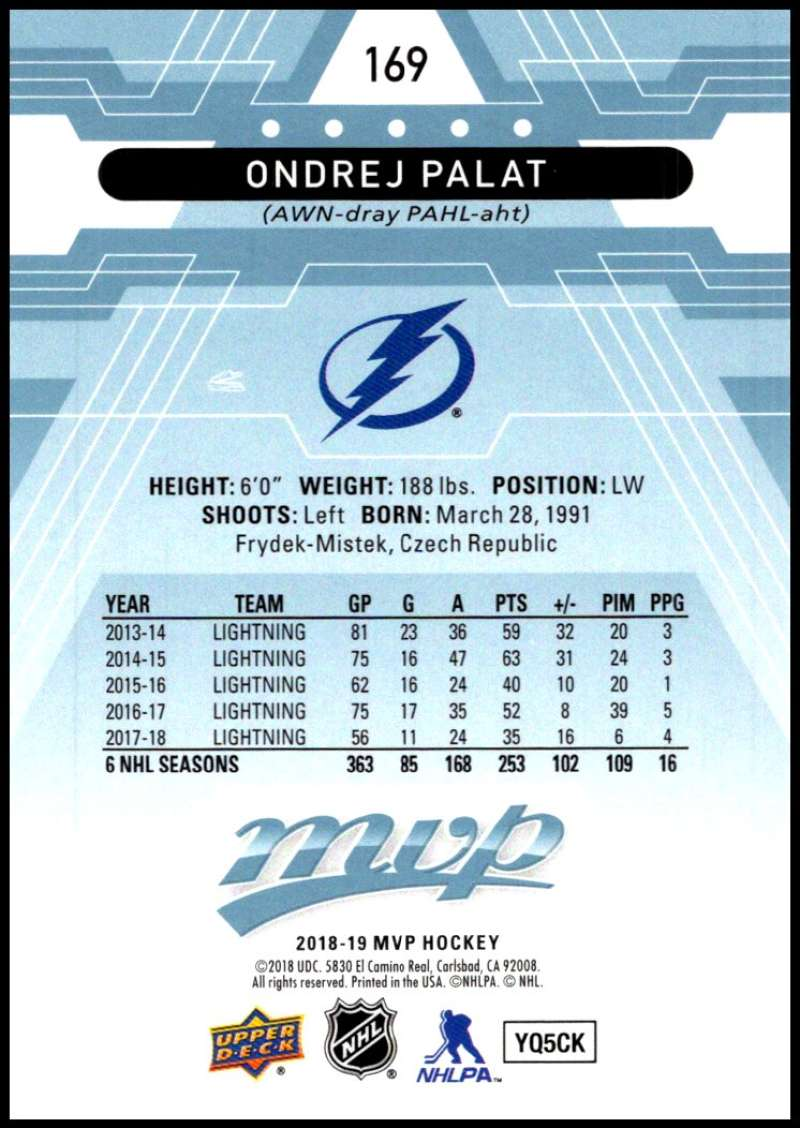 2018-19-Upper-Deck-MVP-Blue-Factory-Set-Parallels-Pick-From-List-With-Rookies miniature 339