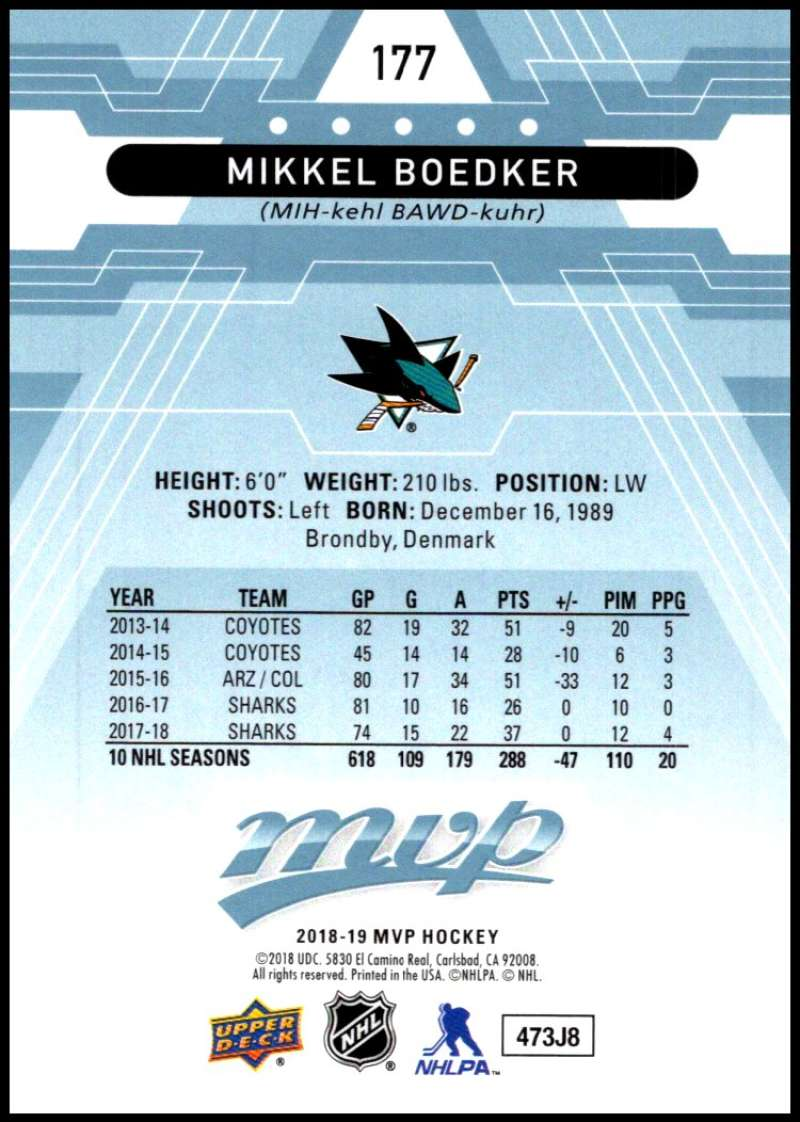 2018-19-Upper-Deck-MVP-Blue-Factory-Set-Parallels-Pick-From-List-With-Rookies miniature 355