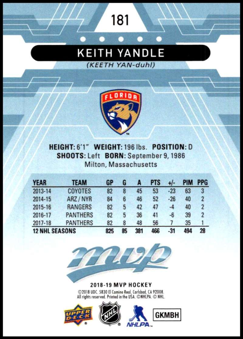 2018-19-Upper-Deck-MVP-Blue-Factory-Set-Parallels-Pick-From-List-With-Rookies miniature 363