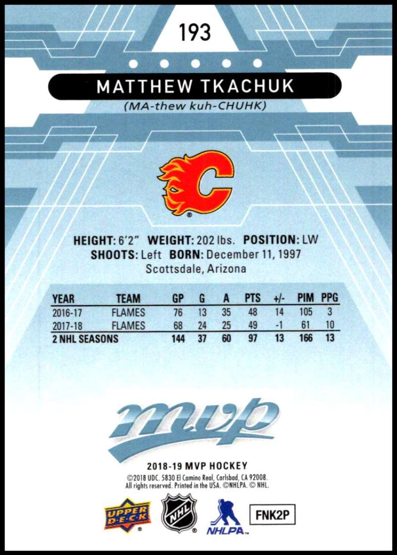 2018-19-Upper-Deck-MVP-Blue-Factory-Set-Parallels-Pick-From-List-With-Rookies miniature 387