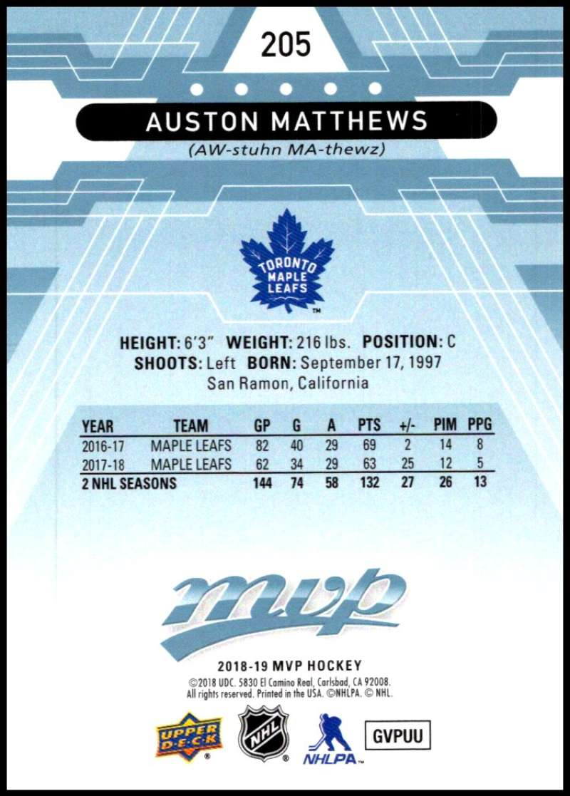 2018-19-Upper-Deck-MVP-Blue-Factory-Set-Parallels-Pick-From-List-With-Rookies miniature 411