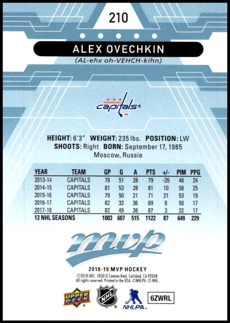 2018-19-Upper-Deck-MVP-Blue-Factory-Set-Parallels-Pick-From-List-With-Rookies miniature 421