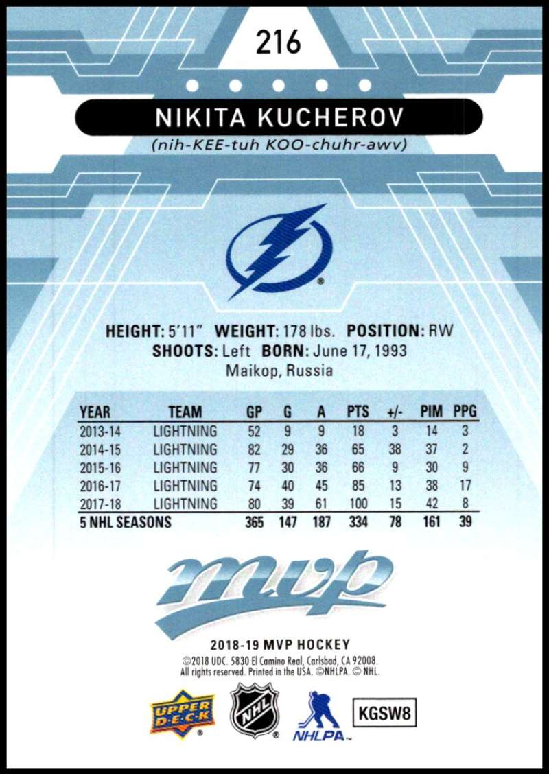 2018-19-Upper-Deck-MVP-Blue-Factory-Set-Parallels-Pick-From-List-With-Rookies miniature 433