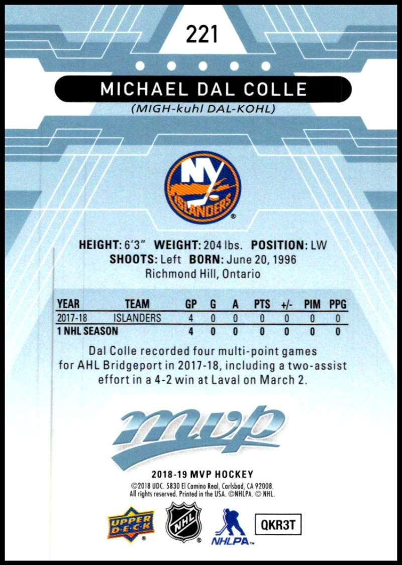 2018-19-Upper-Deck-MVP-Blue-Factory-Set-Parallels-Pick-From-List-With-Rookies miniature 443