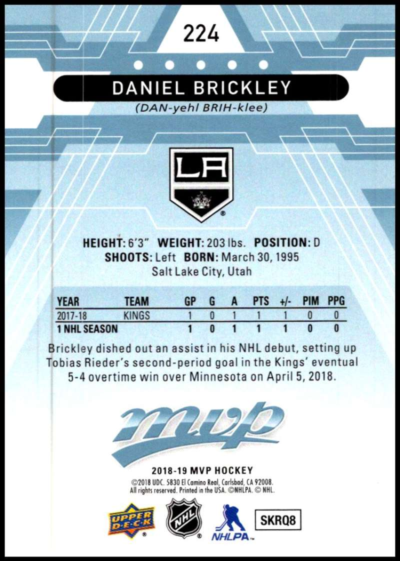 2018-19-Upper-Deck-MVP-Blue-Factory-Set-Parallels-Pick-From-List-With-Rookies miniature 449