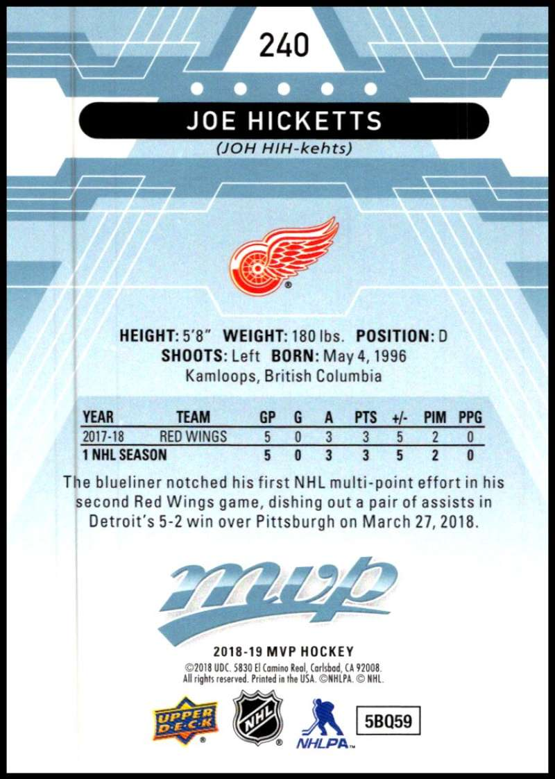 2018-19-Upper-Deck-MVP-Blue-Factory-Set-Parallels-Pick-From-List-With-Rookies miniature 479
