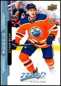 2018-19 Upper Deck MVP Hockey Factory Set BLUE Rookie Card RC #229 Ethan Bear Edmonton Oilers