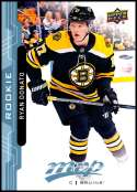 2018-19 Upper Deck MVP Hockey Factory Set BLUE Rookie Card RC #232 Ryan Donato Boston Bruins