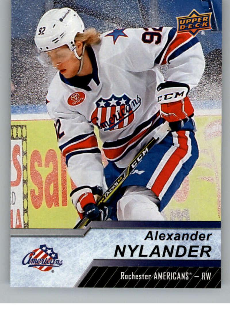 2018-19 Upper Deck AHL Hockey #51 Alexander Nylander Rochester Americans