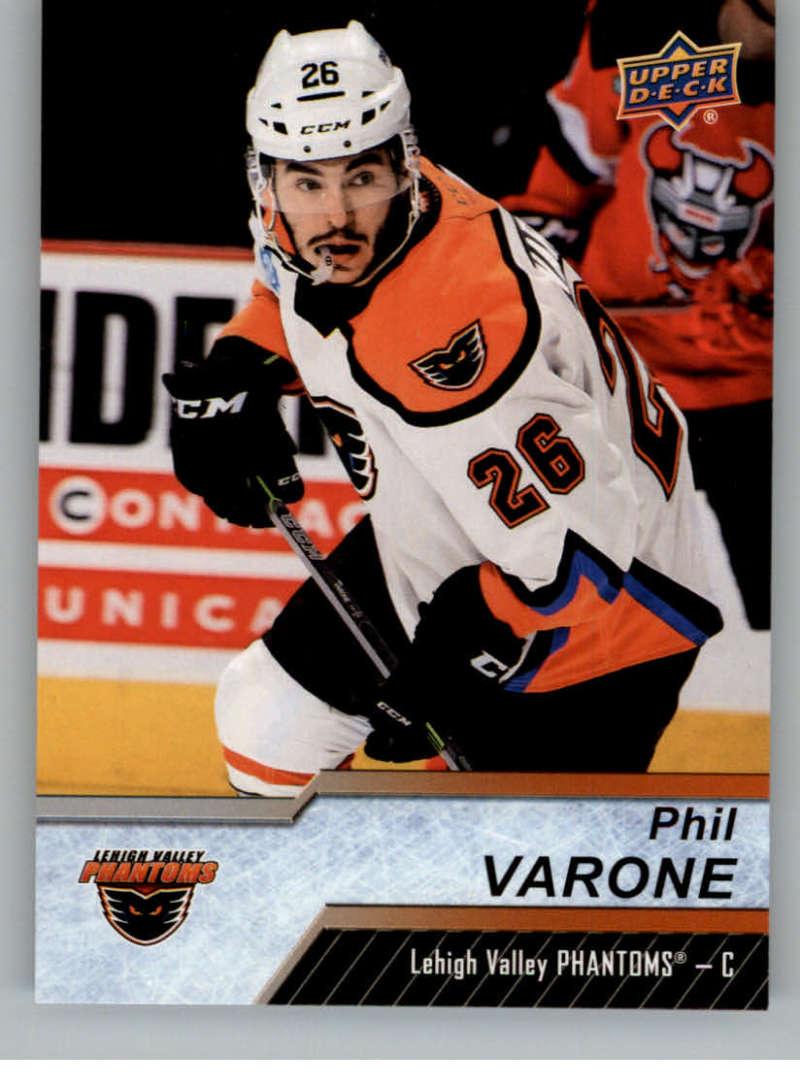 2018-19 Upper Deck AHL Hockey #138 Phil Varone Lehigh Valley Phantoms SP Short Print
