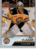 2018-19 Upper Deck AHL Hockey #110 Dan Vladar RC Rookie Providence Bruins SP Short Print