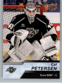 2018-19 Upper Deck AHL Hockey #118 Cal Petersen Ontario Reign SP Short Print