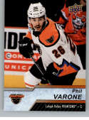 2018-19 Upper Deck AHL Hockey #138 Phil Varone Lehigh Valley Phantoms SP Short Print