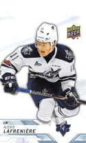 2018-19 UD CHL #1 Alexis Lafreniere Rimouski Oceanic  Official Canadien Hockey League Trading Card by Upper Deck