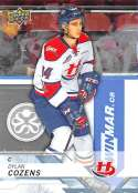 2018-19 UD CHL #82 Dylan Cozens Lethbridge Hurricanes  Official Canadien Hockey League Trading Card by Upper Deck