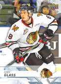 2018-19 UD CHL #95 Cody Glass Portland Winterhawks  Official Canadien Hockey League Trading Card by Upper Deck
