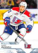 2018-19 UD CHL #208 Bobby Russell Spokane Chiefs  Official Canadian Hockey League Trading Card by Upper Deck