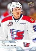 2018-19 UD CHL #231 Luke Toporowski Spokane Chiefs  Official Canadian Hockey League Trading Card by Upper Deck