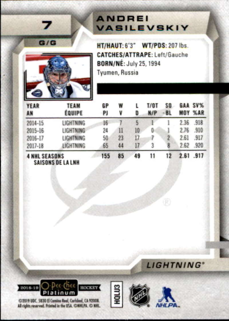 2018-19-O-Pee-Chee-Platinum-Hockey-Singles-Marquee-Rookie-Complete-Your-Set miniature 7