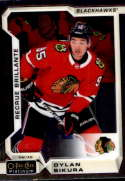 2018-19 OPC Platinum Hockey #198 Dylan Sikura RC Rookie Chicago Blackhawks  Official NHL O-Pee-Chee Trading Card made by Upper Deck