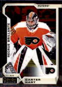 2018-19 OPC Platinum Hockey #199 Carter Hart RC Rookie Philadelphia Flyers  Official NHL O-Pee-Chee Trading Card made by Upper Deck