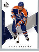 2018-19 Upper Deck NHL SP Authentic #99 Wayne Gretzky Edmonton Oilers  Official UD Hockey Trading Card