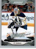 2019-20 Upper Deck MVP #172 Linus Ullmark NM-MT Buffalo Sabres