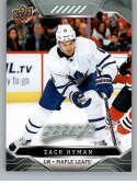 2019-20 Upper Deck MVP #192 Zach Hyman NM-MT Toronto Maple Leafs