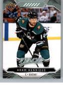2019-20 Upper Deck MVP #194 Adam Henrique NM-MT Anaheim Ducks