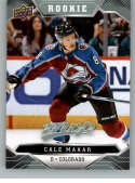 2019-20 UD MVP Hockey Short Print #247 Cale Makar Colorado Avalanche  RC Rookie SP  Official Upper Deck NHL Trading Card