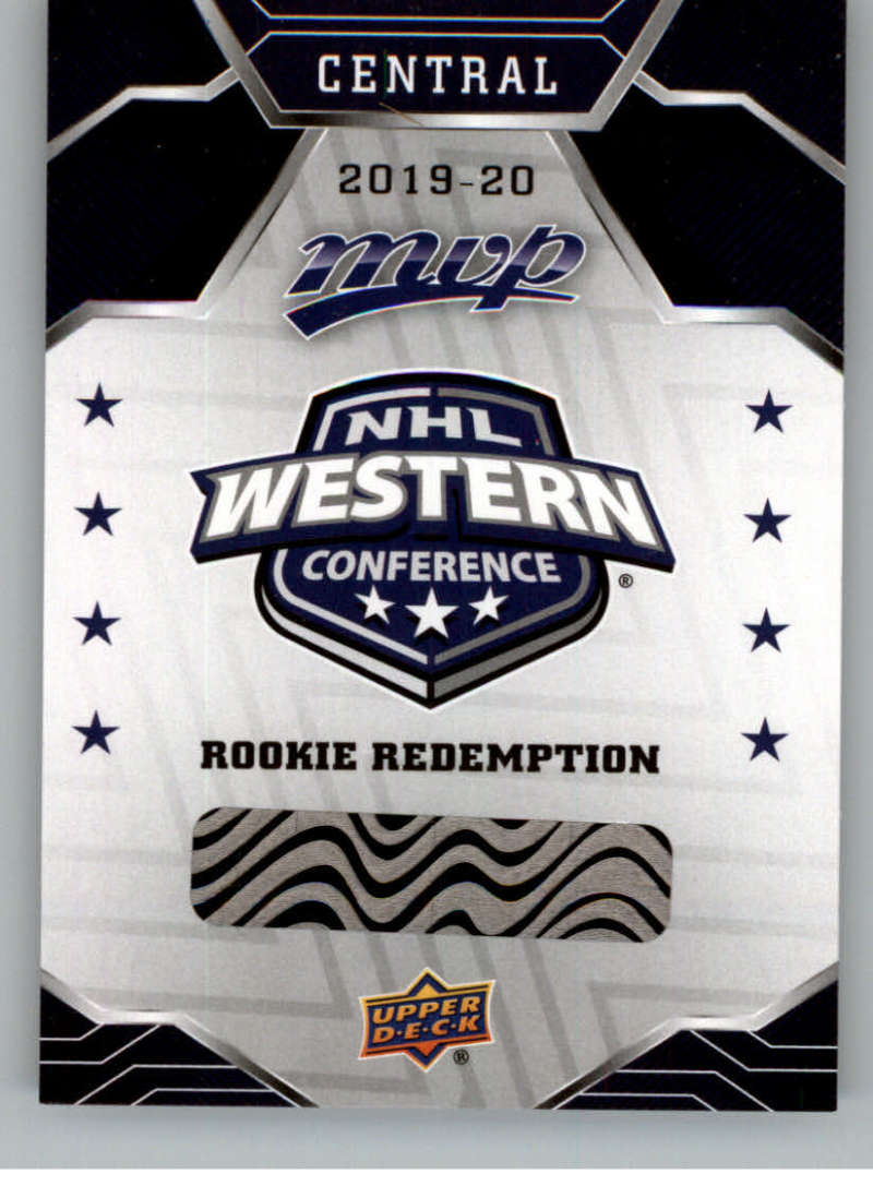 2019-20 Upper Deck MVP Rookie Redemptions