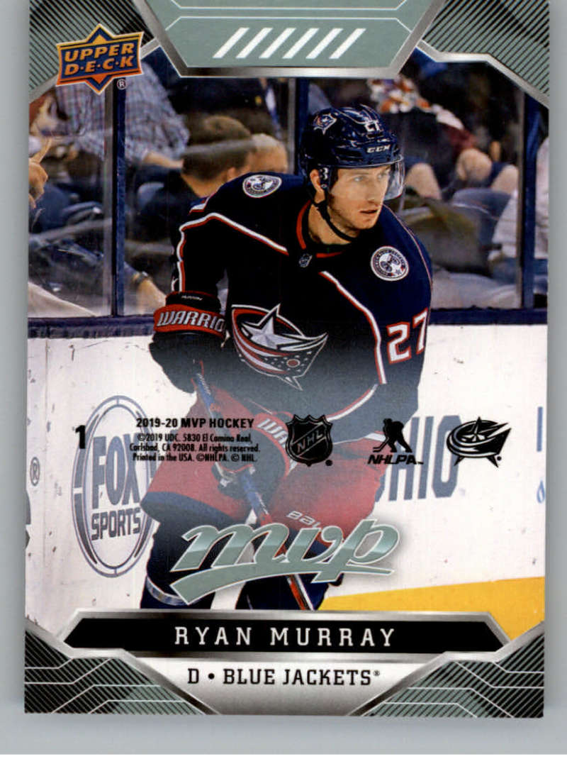 2019-20 Upper Deck MVP Puzzle Backs