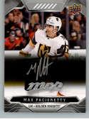 2019-20 Upper Deck MVP Silver Script Hockey #211 Max Pacioretty Vegas Golden Knights Official Upper Deck Hockey Card