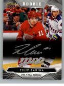 2019-20 Upper Deck MVP Silver Script Hockey #223 Filip Zadina Detroit Red Wings Official Upper Deck Hockey Card