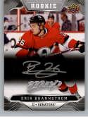 2019-20 Upper Deck MVP Silver Script Hockey #227 Erik Brannstrom Ottawa Senators Official Upper Deck Hockey Card