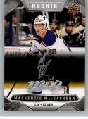 2019-20 Upper Deck MVP Silver Script Hockey #234 Mackenzie MacEachern St. Louis Blues Official Upper Deck Hockey Card