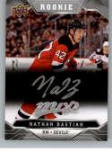 2019-20 Upper Deck MVP Silver Script Hockey #238 Nathan Bastian New Jersey Devils Official Upper Deck Hockey Card