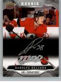 2019-20 Upper Deck MVP Silver Script Hockey #241 Rudolfs Balcers Ottawa Senators Official Upper Deck Hockey Card