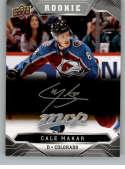 2019-20 Upper Deck MVP Silver Script Hockey #247 Cale Makar Colorado Avalanche Official Upper Deck Hockey Card
