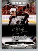 2019-20 Upper Deck MVP Silver Script Hockey #250 Cale Makar Colorado Avalanche Official Upper Deck Hockey Card