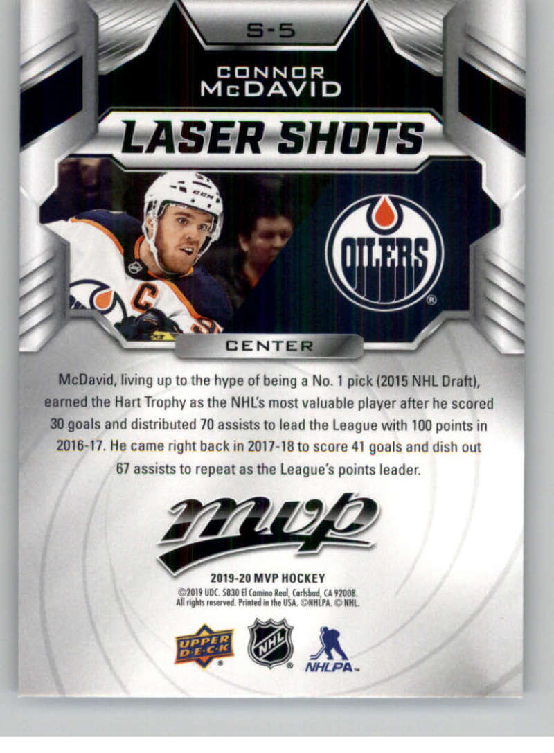 2019-20-Upper-Deck-MVP-NHL-Hockey-Insert-Singles-Pick-Your-Cards miniature 9