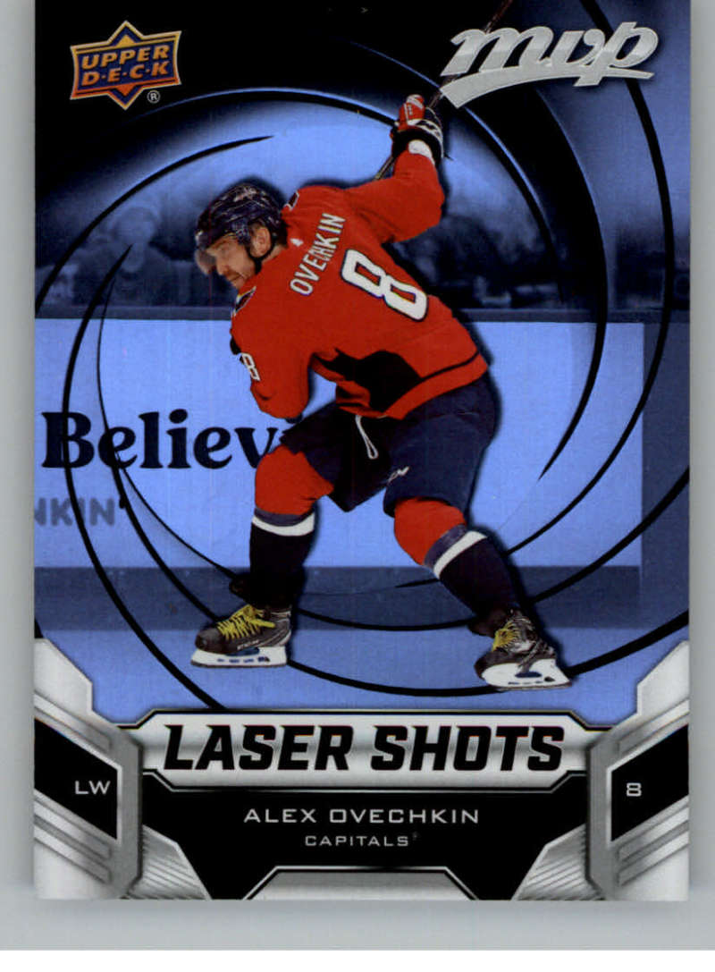 2019-20 Upper Deck MVP Laser Shots