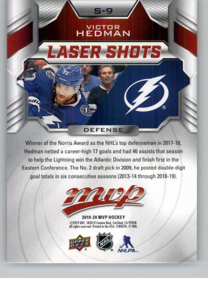 2019-20-Upper-Deck-MVP-NHL-Hockey-Insert-Singles-Pick-Your-Cards miniature 29