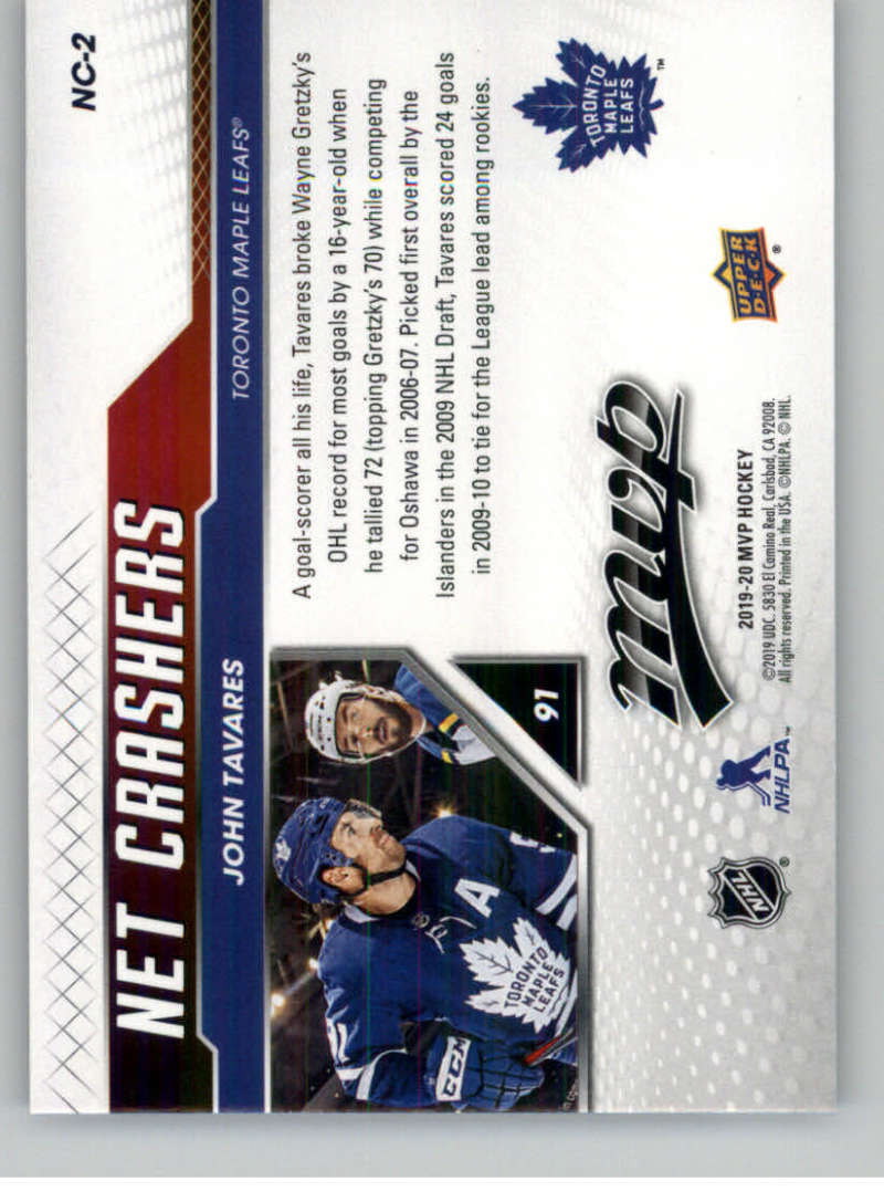 2019-20-Upper-Deck-MVP-NHL-Hockey-Insert-Singles-Pick-Your-Cards miniature 35