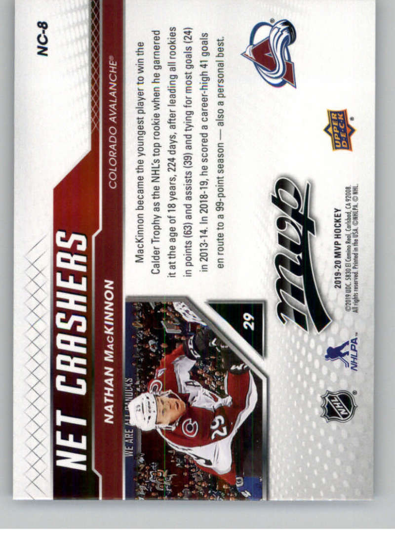 2019-20-Upper-Deck-MVP-NHL-Hockey-Insert-Singles-Pick-Your-Cards miniature 47