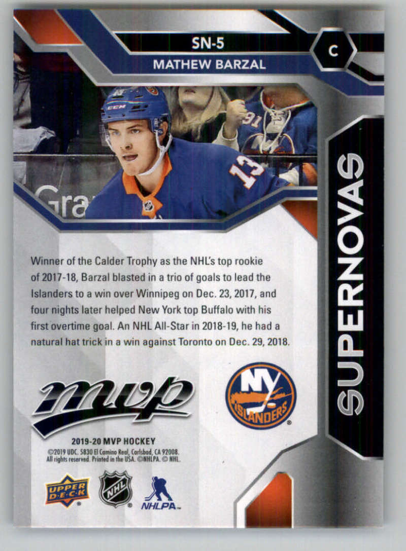 2019-20-Upper-Deck-MVP-NHL-Hockey-Insert-Singles-Pick-Your-Cards miniature 59