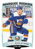 2019-20 O-Pee-Chee Update OPC Hockey #615 Oliver Wahlstrom RC Rookie New York Islanders  Official NHL Trading Card made by Upper Deck