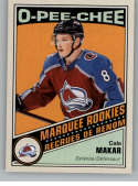 2019-20 OPC O-Pee-Chee Retro Hockey #528 Cale Makar RC Rookie Card Colorado Avalanche Official NHL Trading Card (made by