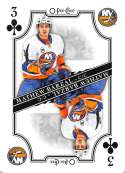 2019-20 O-Pee-Chee OPC Playing Cards #3-CLUBS Mathew Barzal New York Islanders  Official NHL Hockey Trading Card (made by Upper Deck)