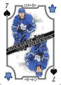 2019-20 O-Pee-Chee OPC Playing Cards #7-SPADES Mitch Marner Toronto Maple Leafs  Official NHL Hockey Trading Card (made by Upper Deck)